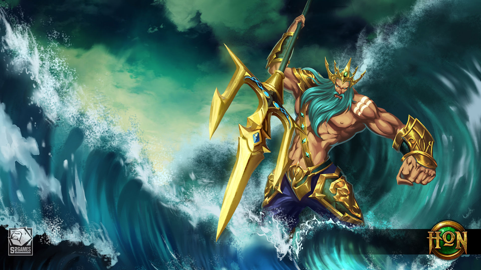 Poseidon-Wallpaper