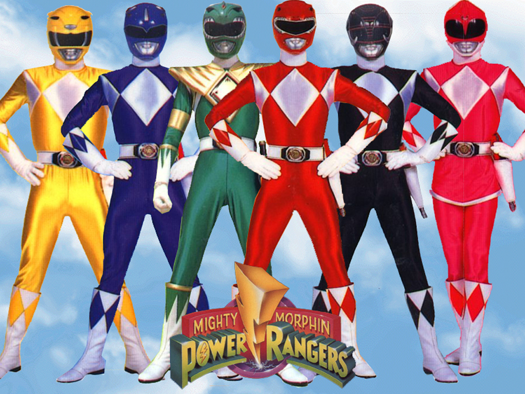 Mighty Morphin Power Rangers Forever!