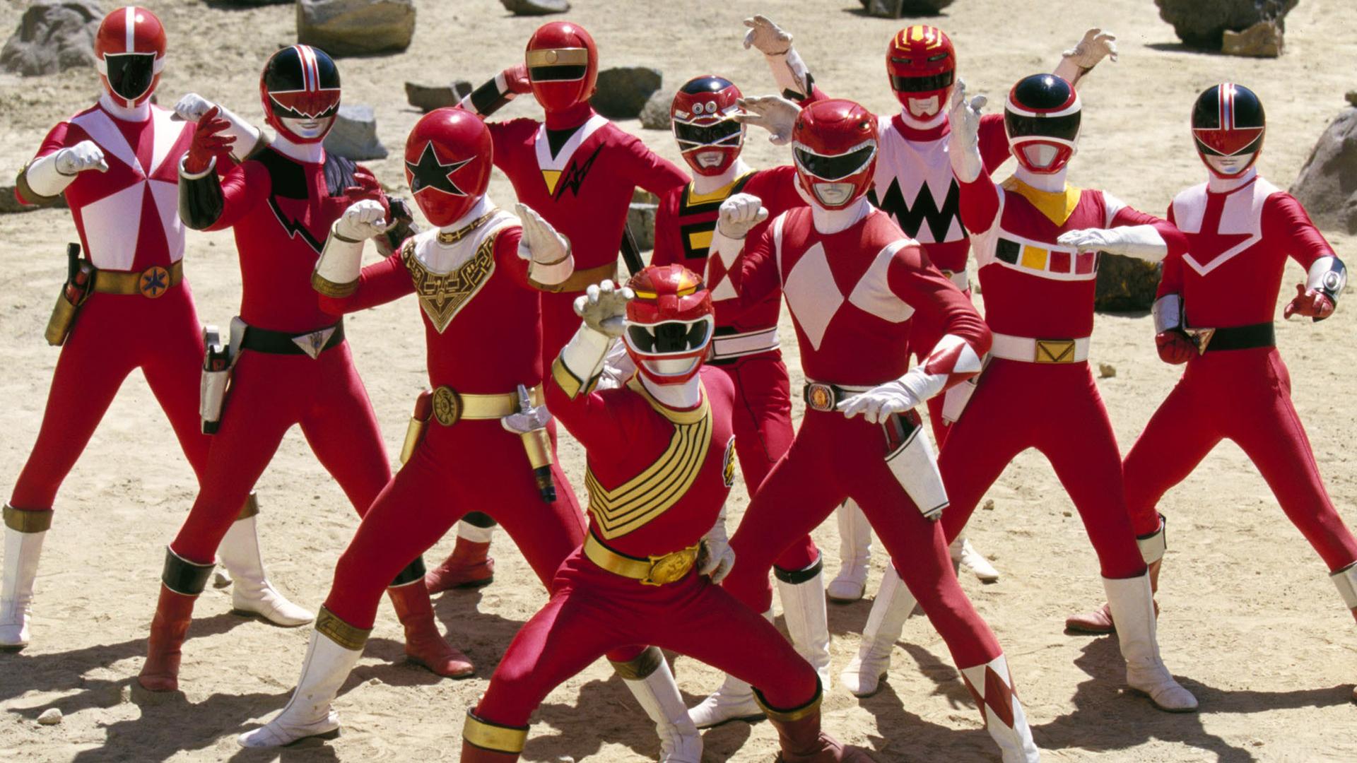 TV Show Power Rangers Wallpaper