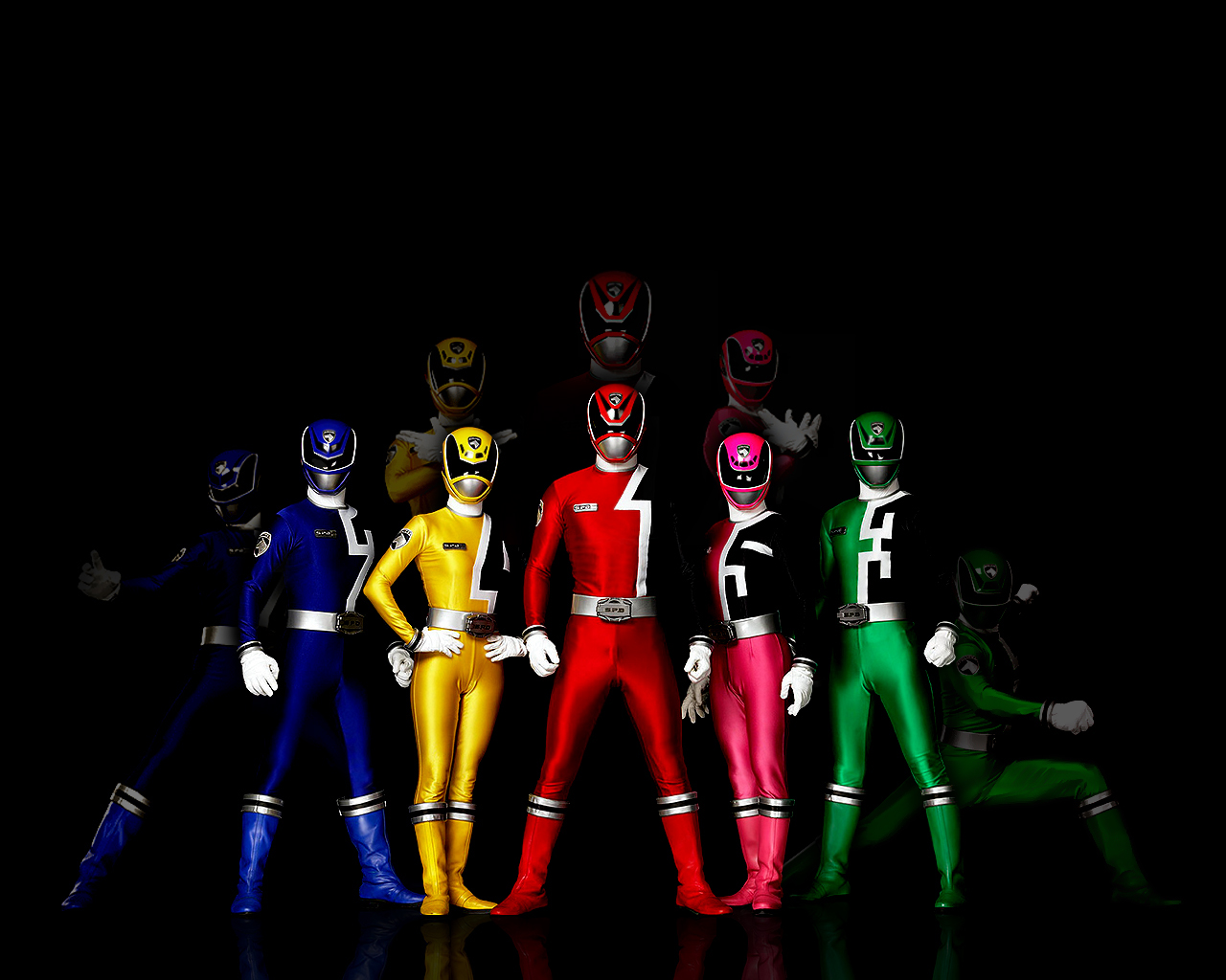 HD Wallpaper | Background ID:65054. 1280x1024 TV Show Power Rangers
