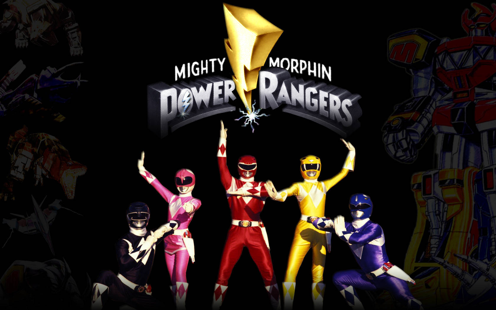 Power Rangers Wallpaper #198549 - Resolution 1680x1050 px