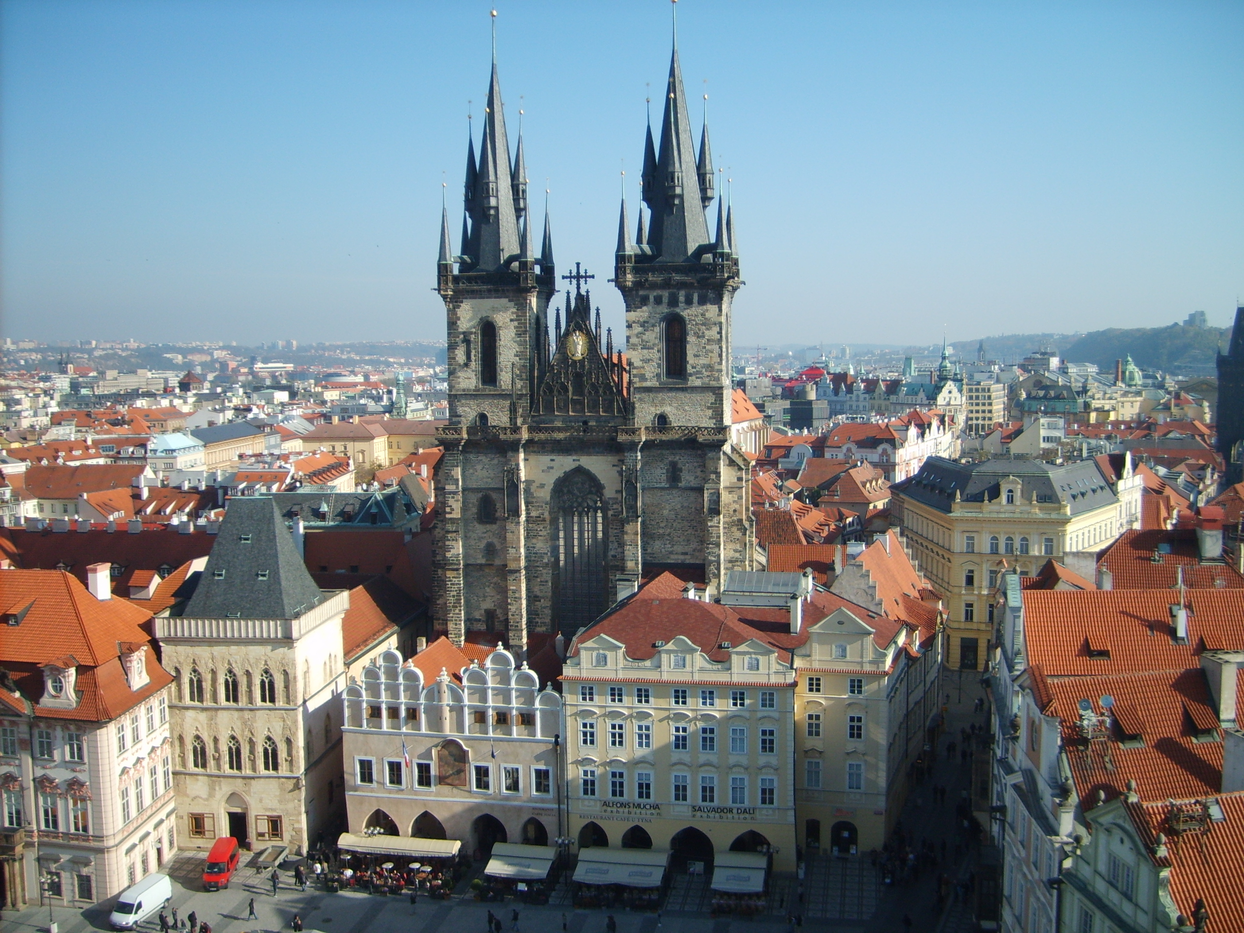 Next stop on my little whirlwind tour of Europe is Prague in the Czech Republic, where I've had two fantastic days exploring this wonderful city.