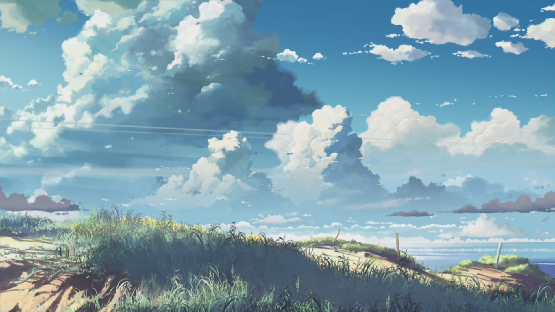 Pretty Anime Scenery Wallpaper