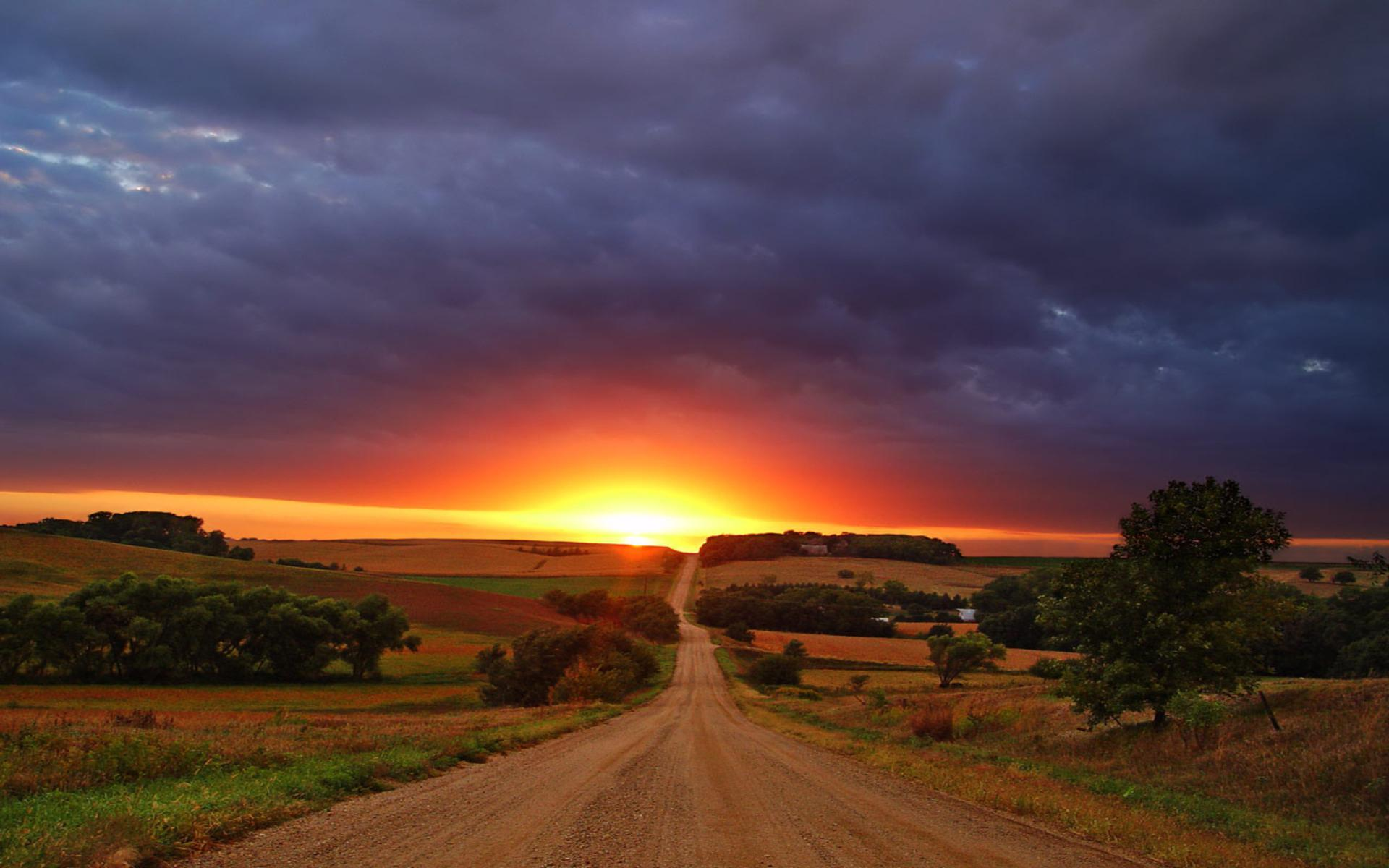 Pretty Country Sunset 5357