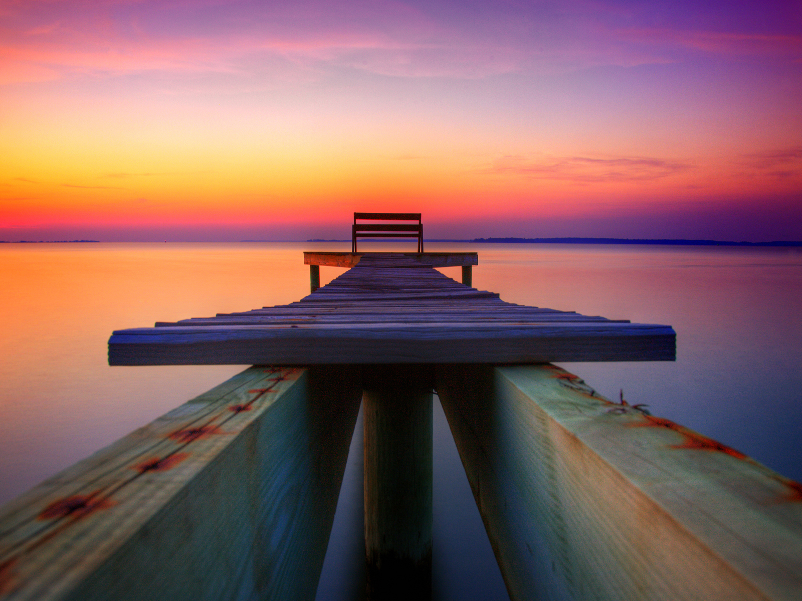Pretty Dock Wallpaper