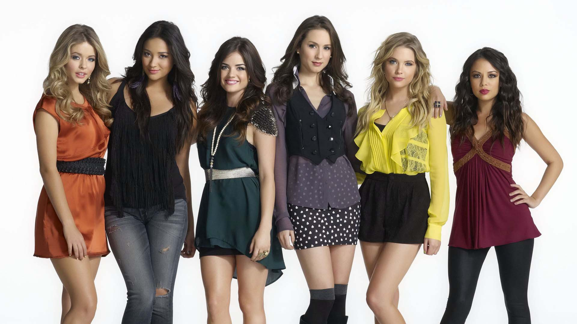 Pretty Little Liars Girls