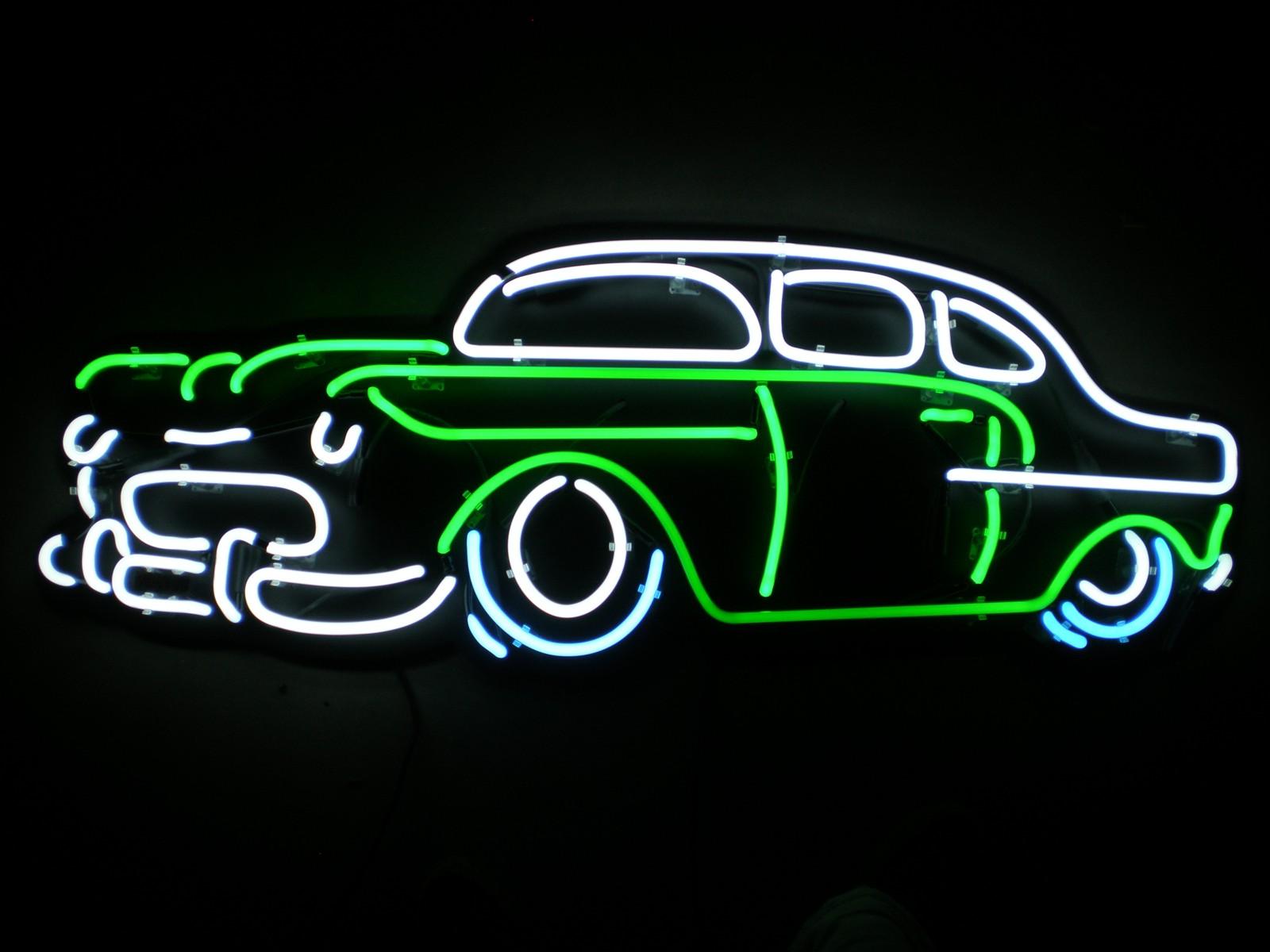 Pretty Neon Sign Wallpaper