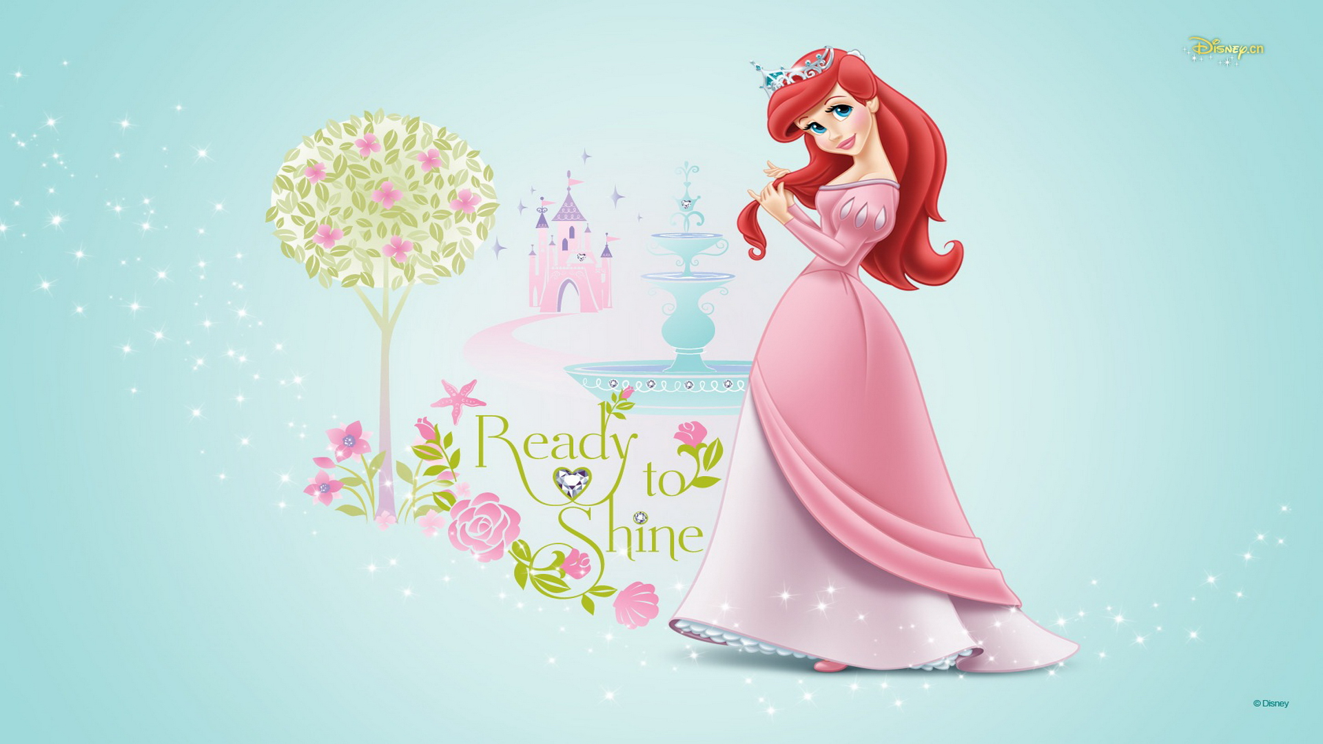 Disney Princess Ariel Purple Dress Wallpaper Foolhardi 1920x1080px