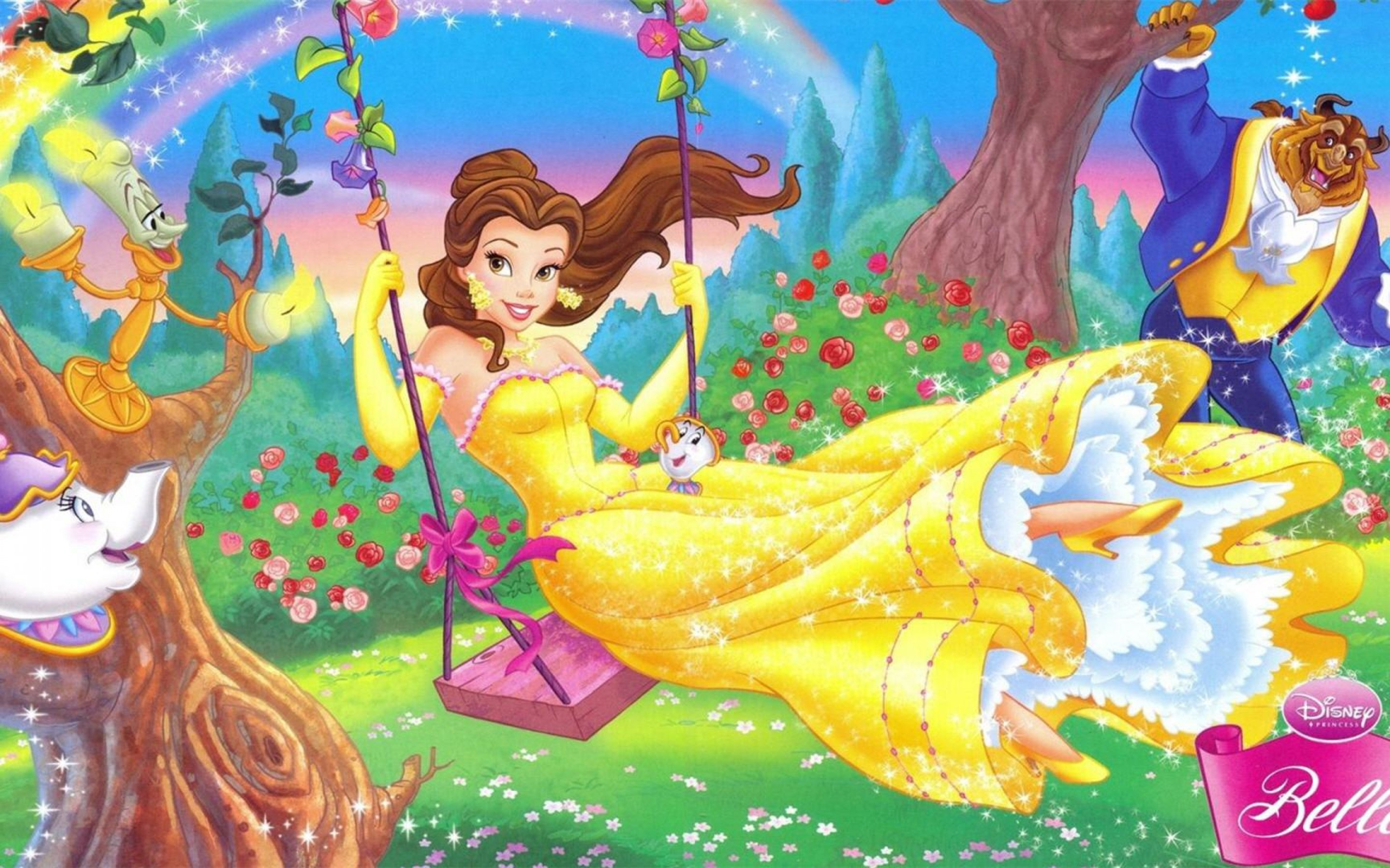 nice disney princess widescreen wallpaper