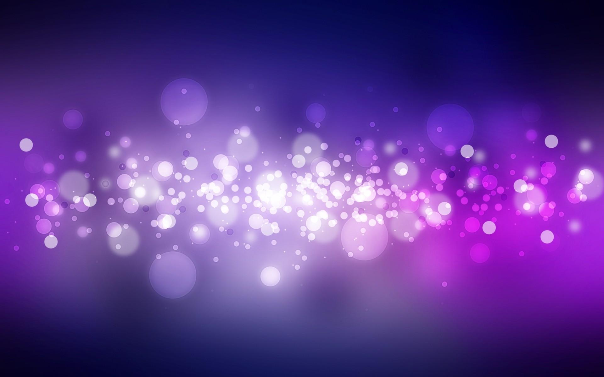 Purple Bubbles Wallpaper