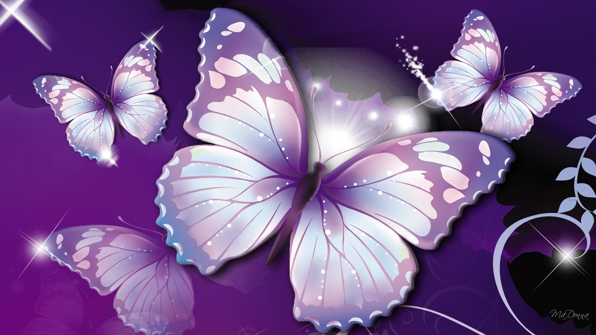 Black Butterfly Wallpaper and Images for Gt Purple