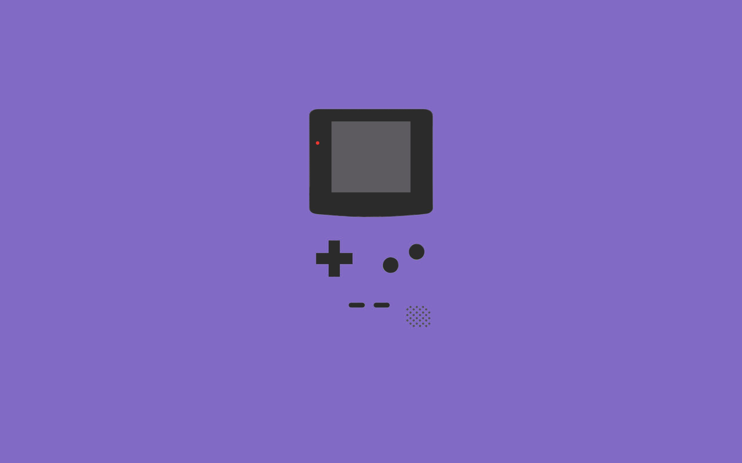 Purple Gameboy Wallpaper