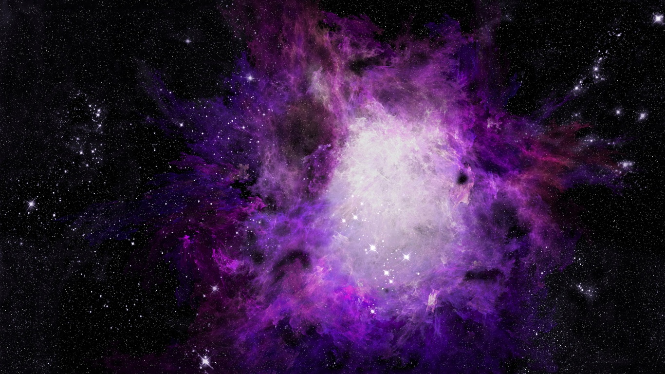 Purple Orion Wallpaper