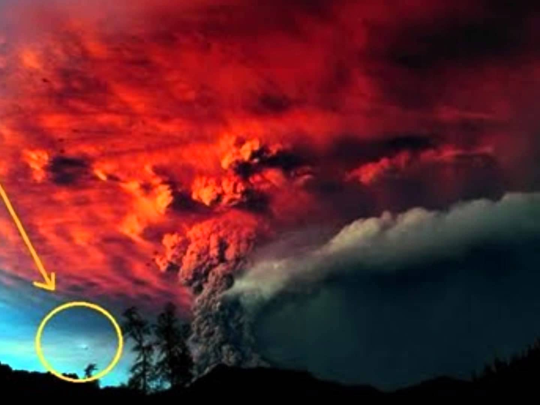 Avistan un OVNI en el volcán Puyehue, Chile