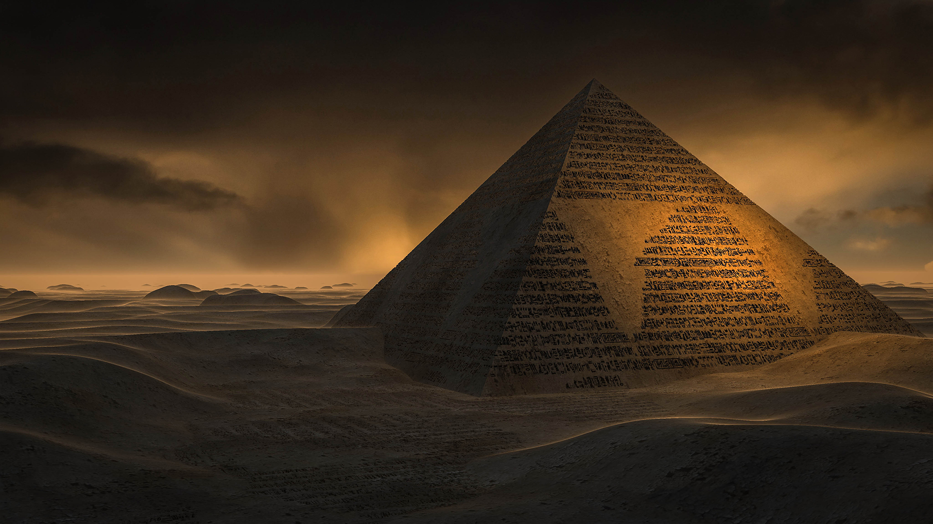 Free Pyramid Wallpaper 20765
