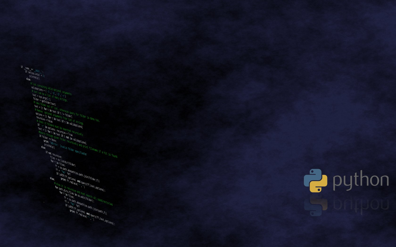 Python - programming Wallpaper