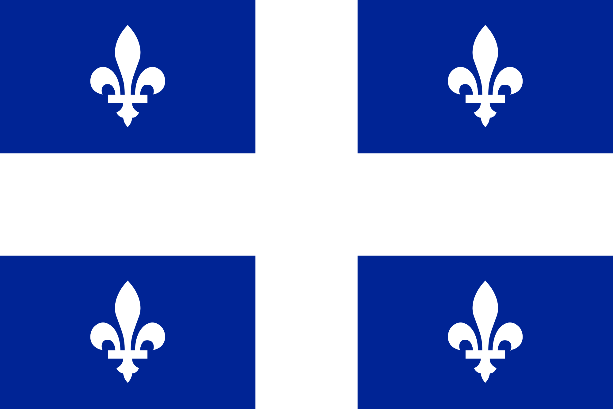 Flag of Quebec.svg