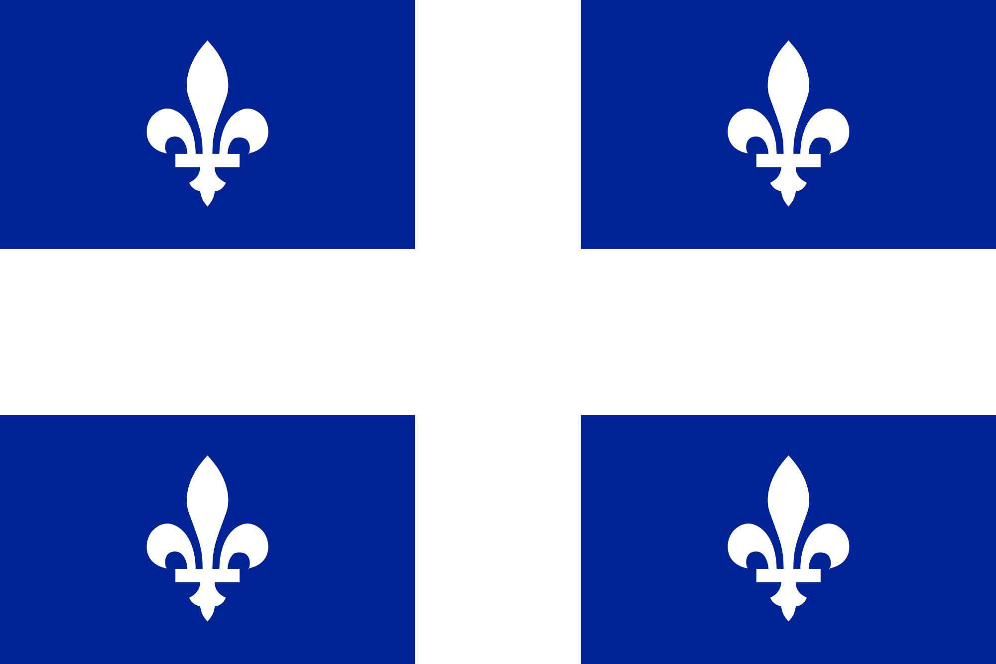 Flag of Quebec.svg