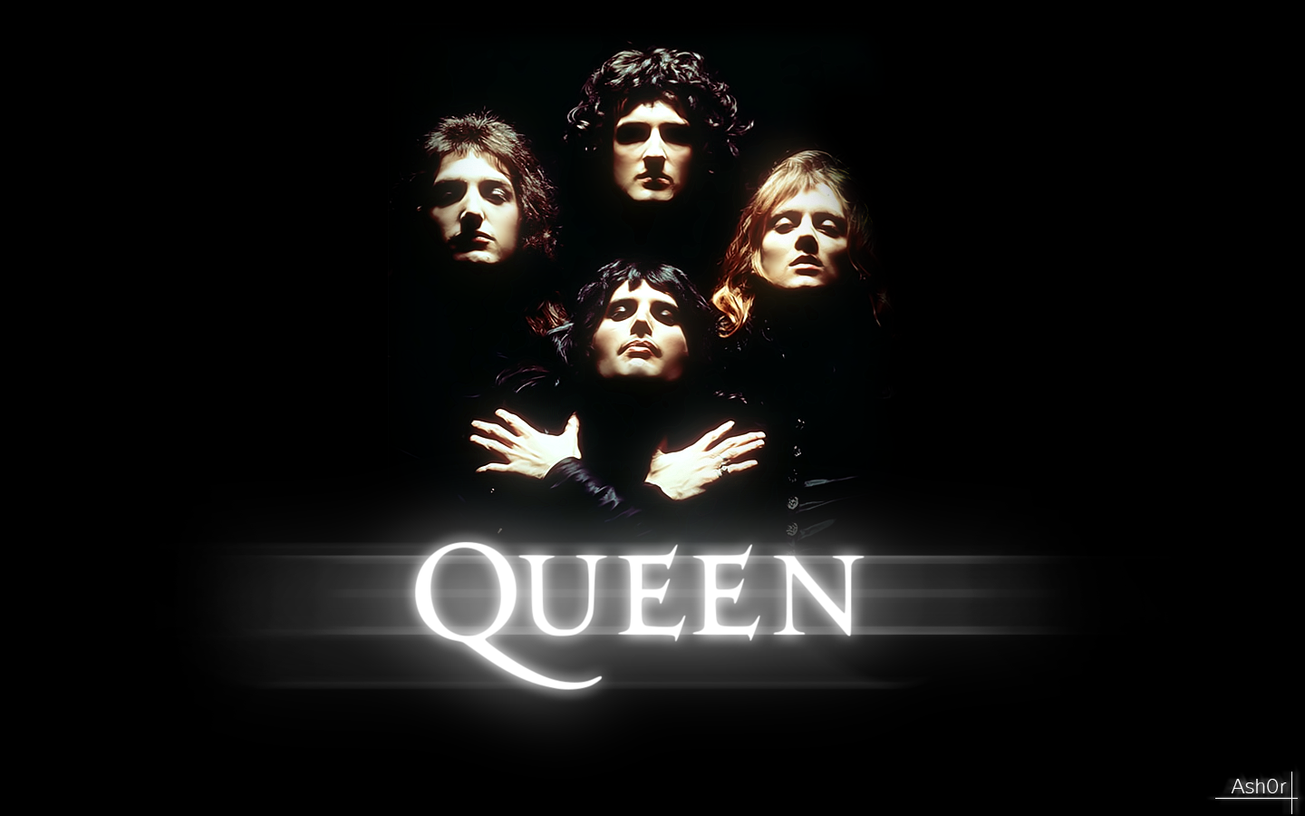 Queen Wallpapers Fondos de pantalla - Backgrounds Desktop Musica Banda (75)
