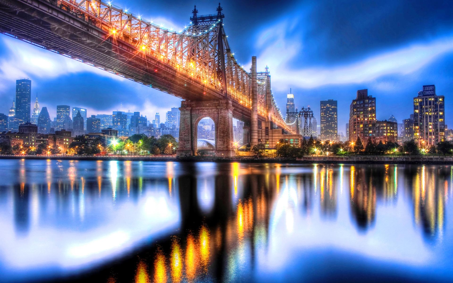 Queensboro bridge night