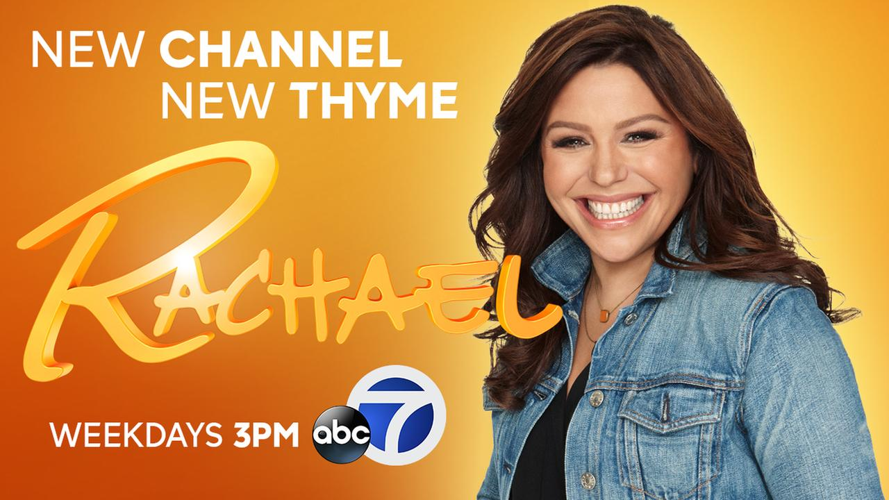 Rachael Ray: 3 P.M. Weekdays on ABC7!