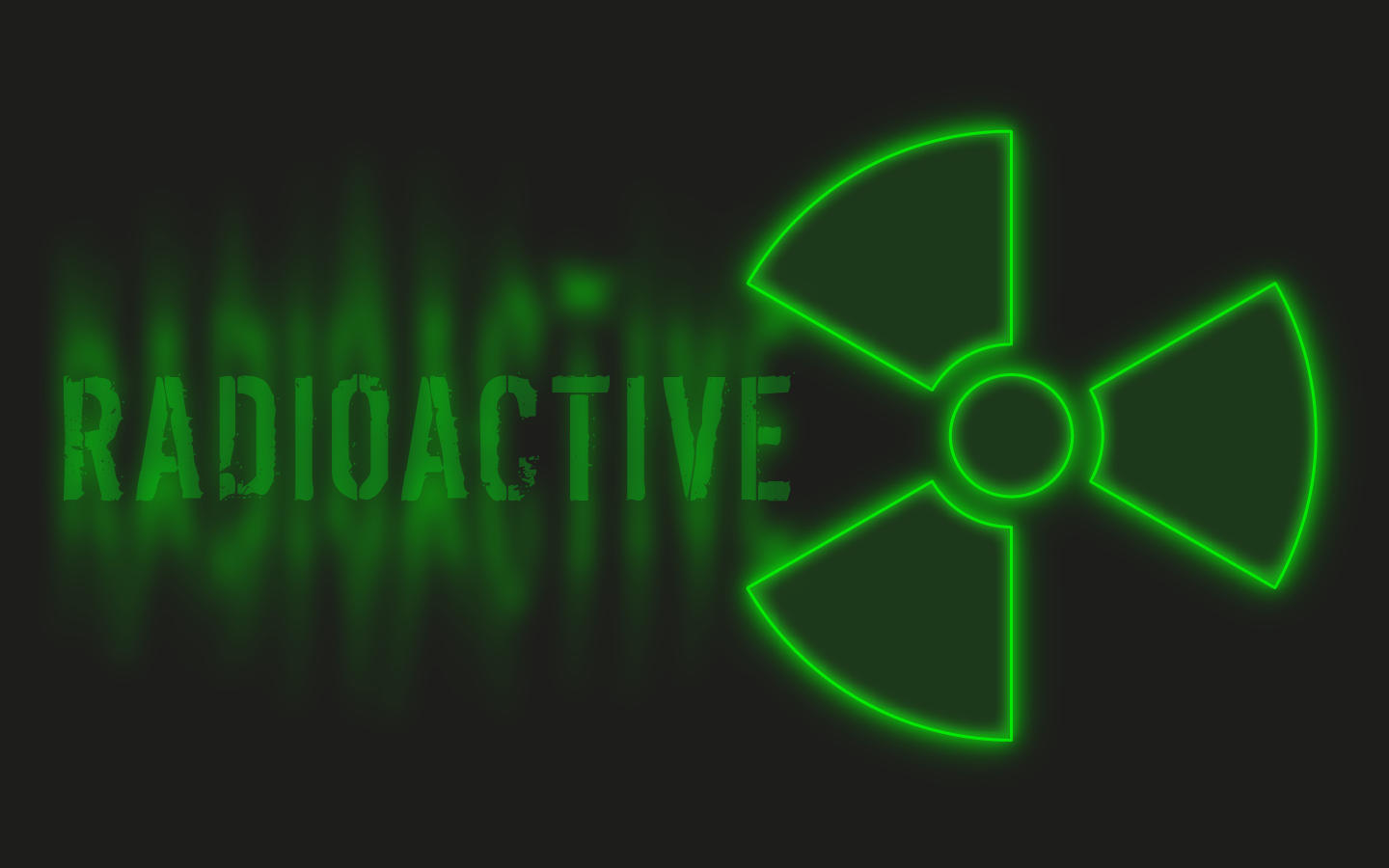 Wallpapers For > Cool Radioactive Wallpaper