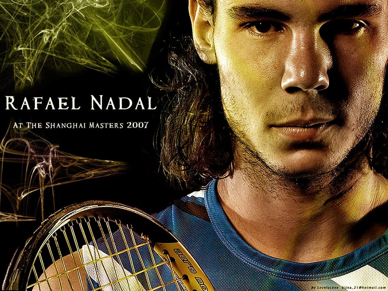 Rafa Nadal Shanghai Masters 2007 Wallpaper