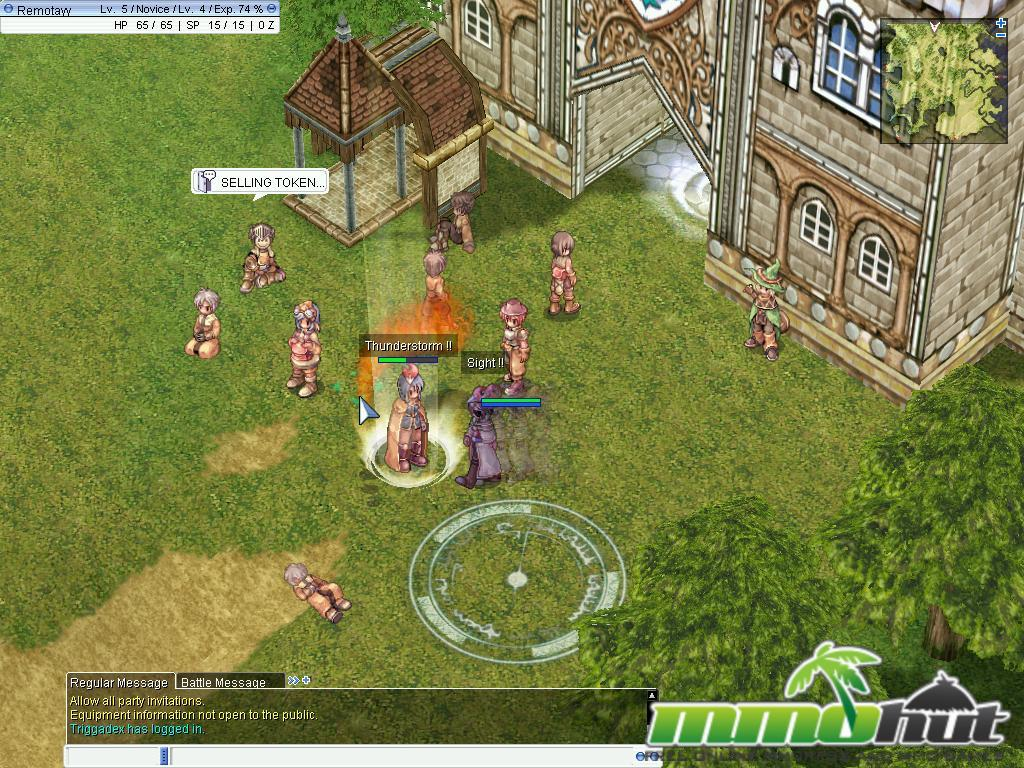 Despite being released in 2002, Ragnarok's unique 2.5D anime sprite graphics allow it to stand up well against time. The characters are 2D sprites while the ...