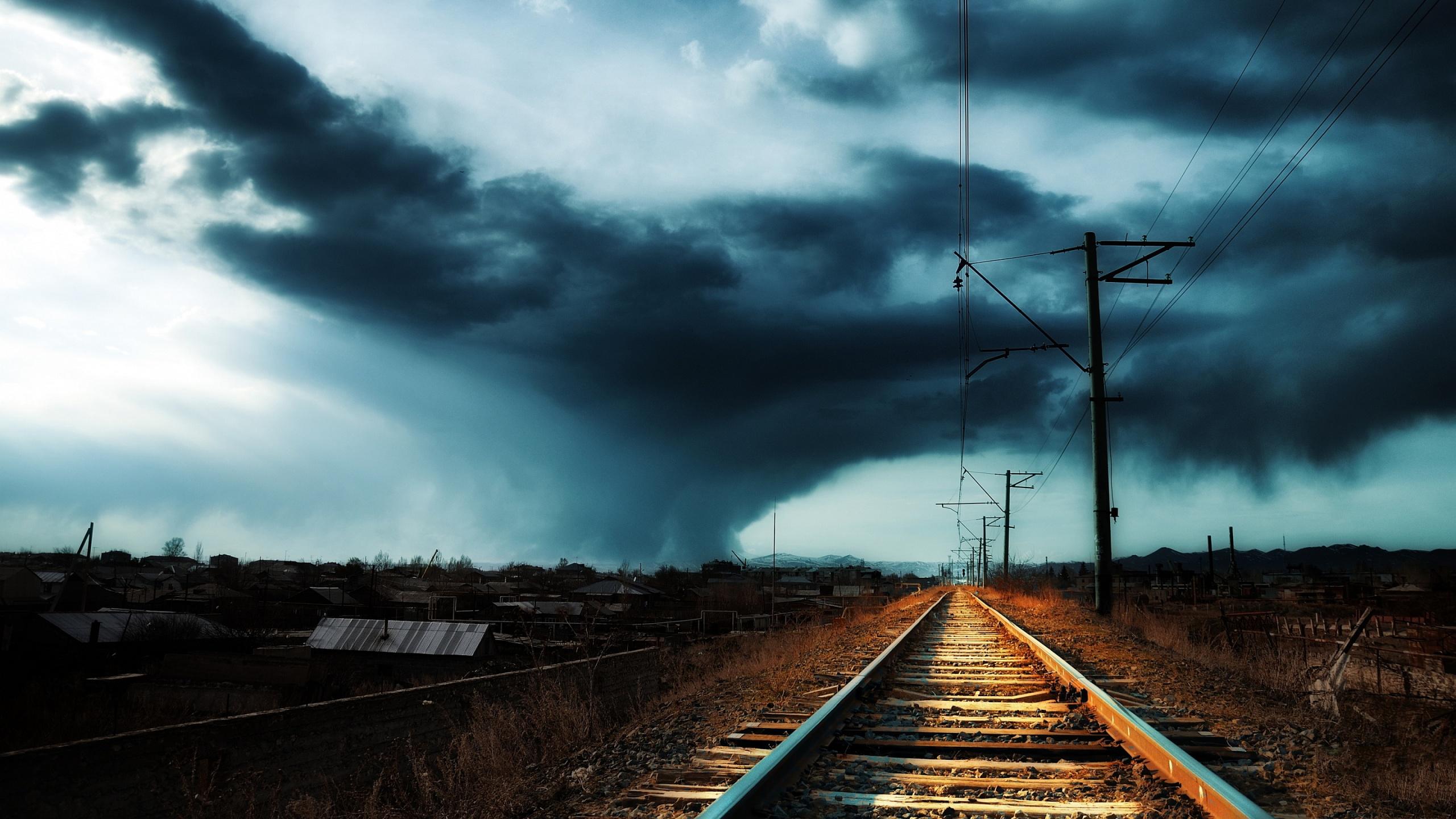 Railroad in armenia