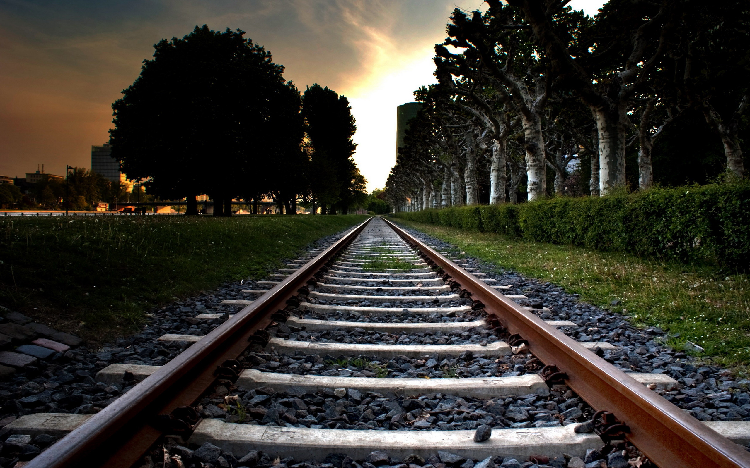 Railroad Background