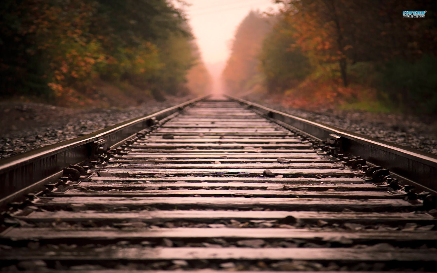 Railway wallpaper 1680x1050