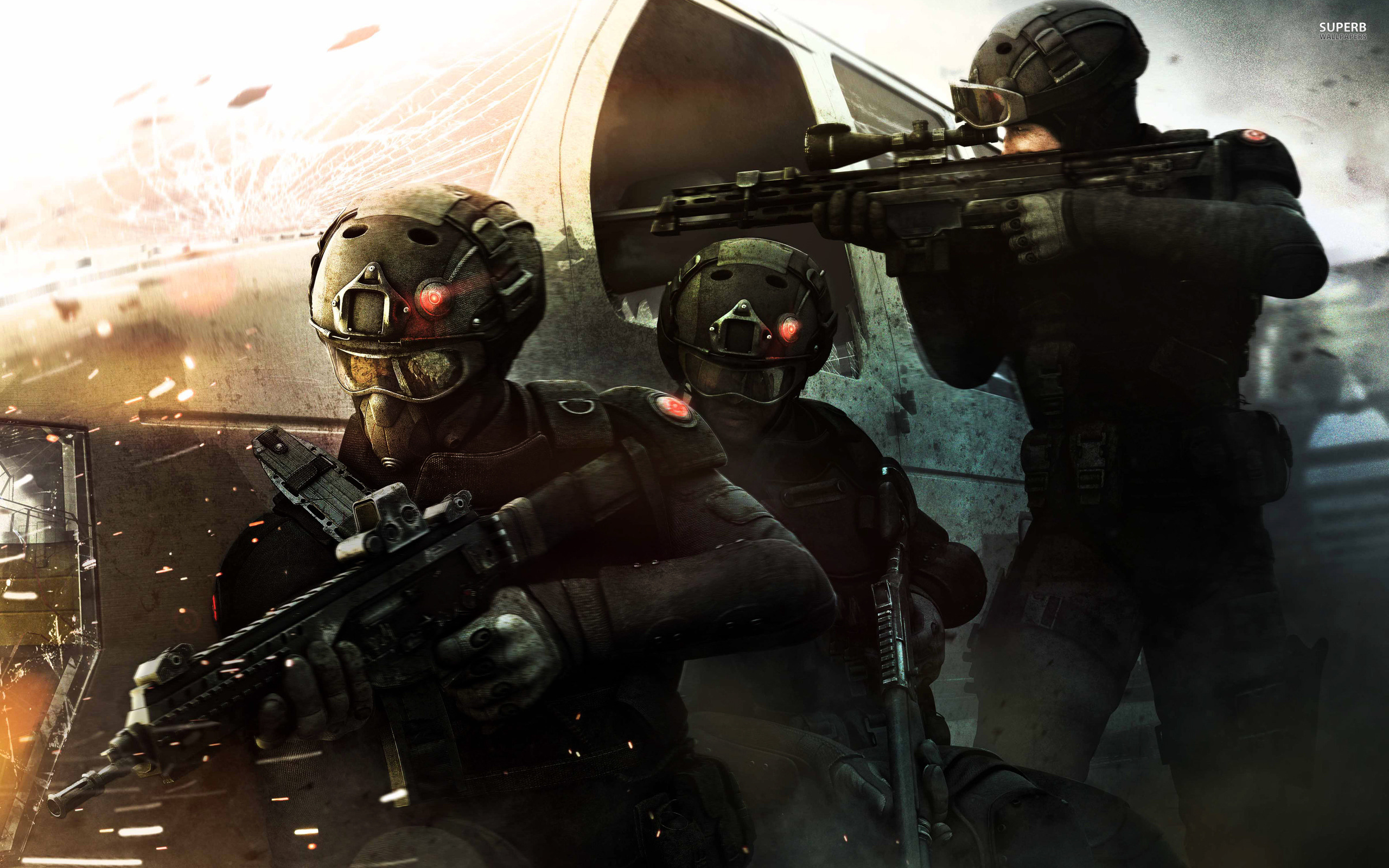 Tom Clancy's Rainbow 6: Patriots wallpaper 2560x1600 jpg