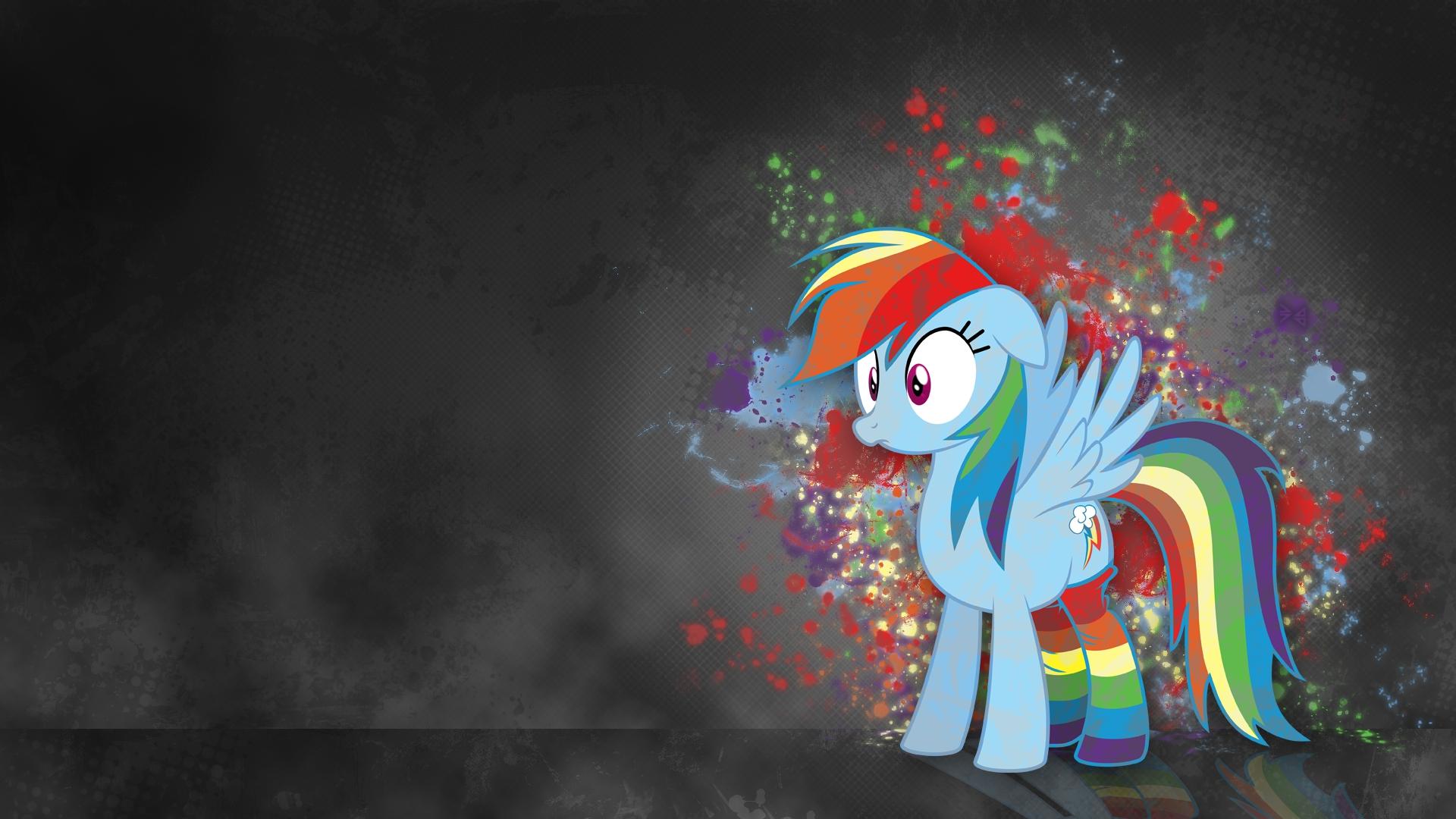 Rainbow Dash Female Pegasus Pony Desktop Wallpaper Images #47919