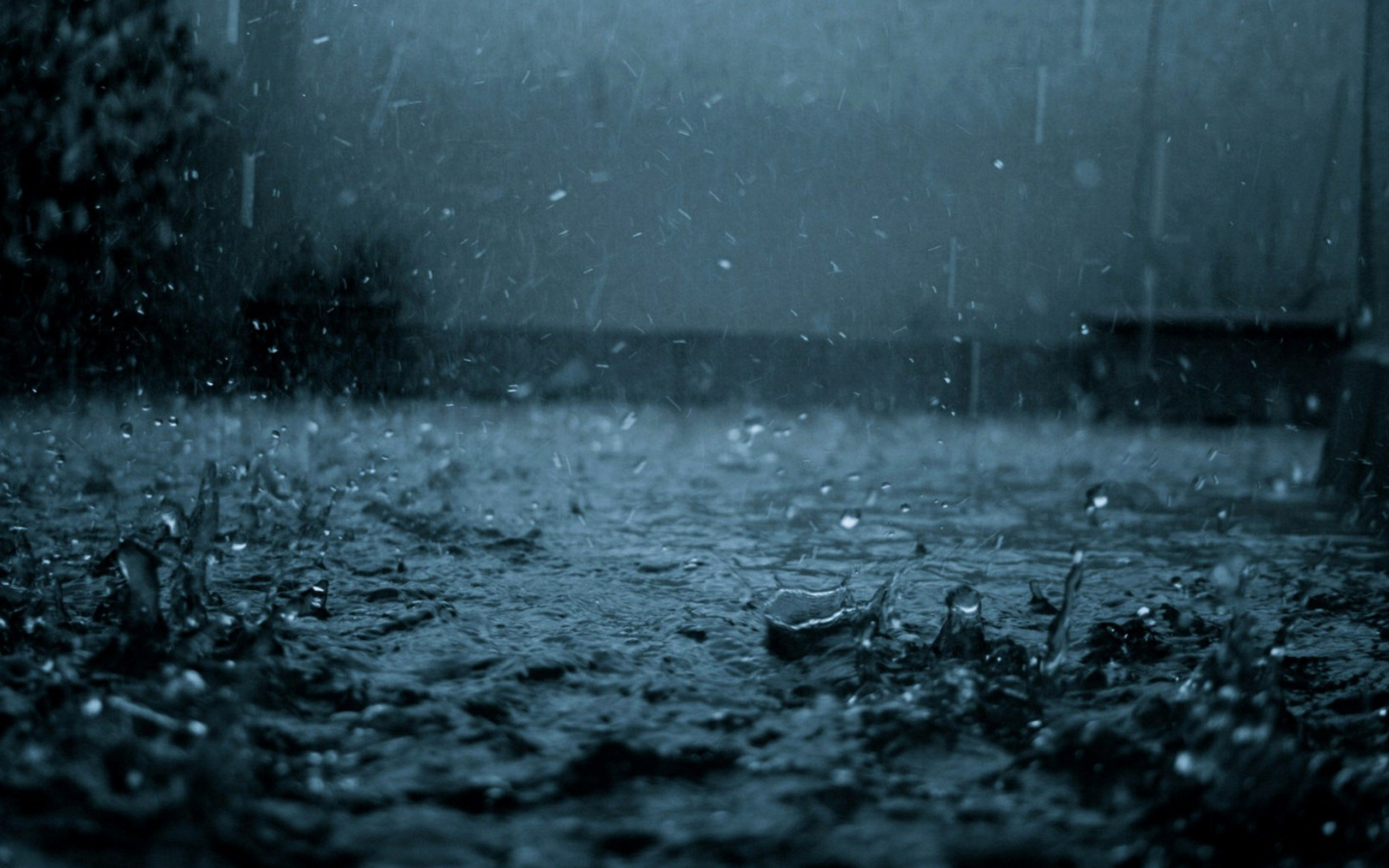 Rain Desktop HD Wallpaper
