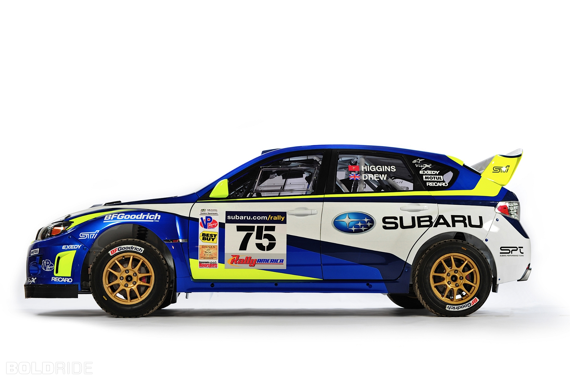 2011 Subaru WRX STI Rally Car 1600 x 1200