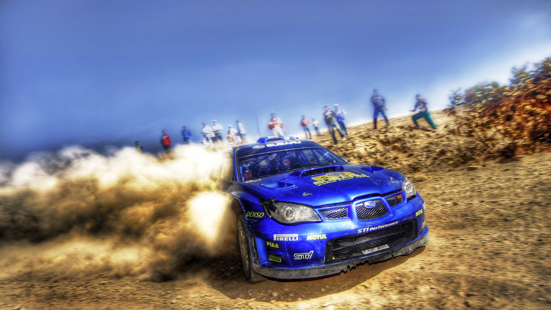 Amazing Rally Car Wallpaper