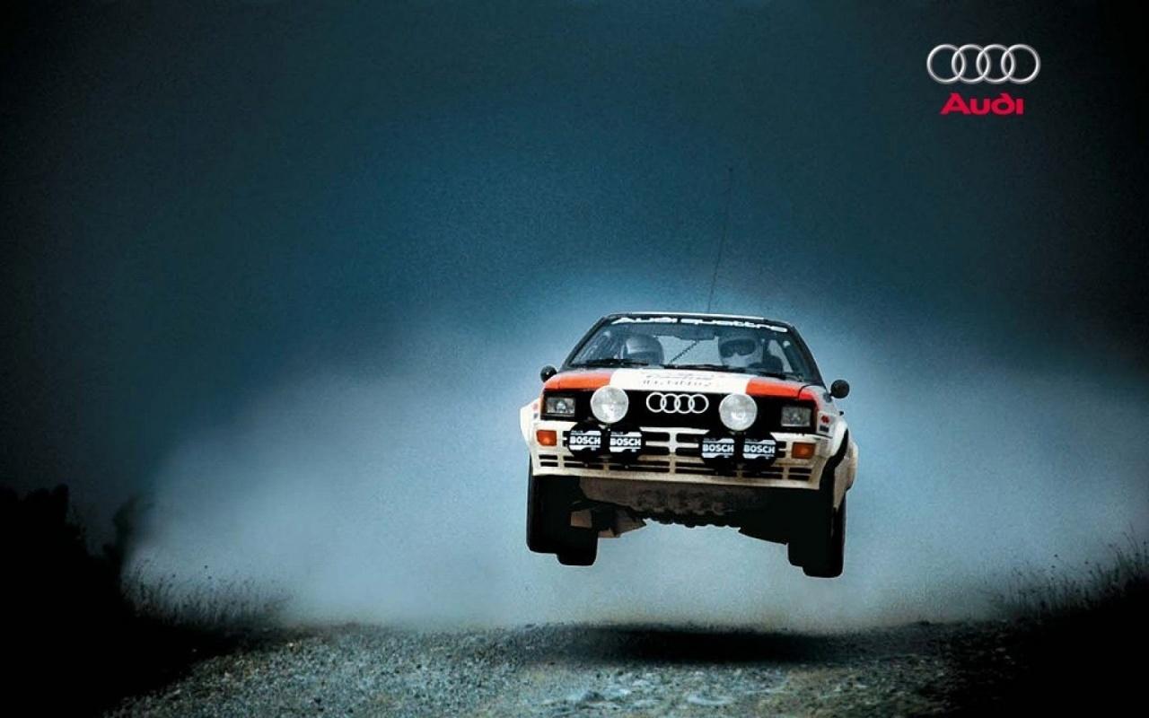 1280x800 Audi Quattro Rally