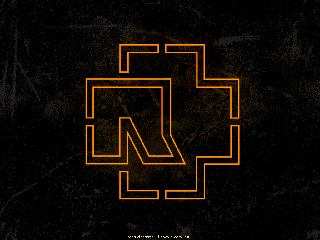 Rammstein Logo Wallpaper