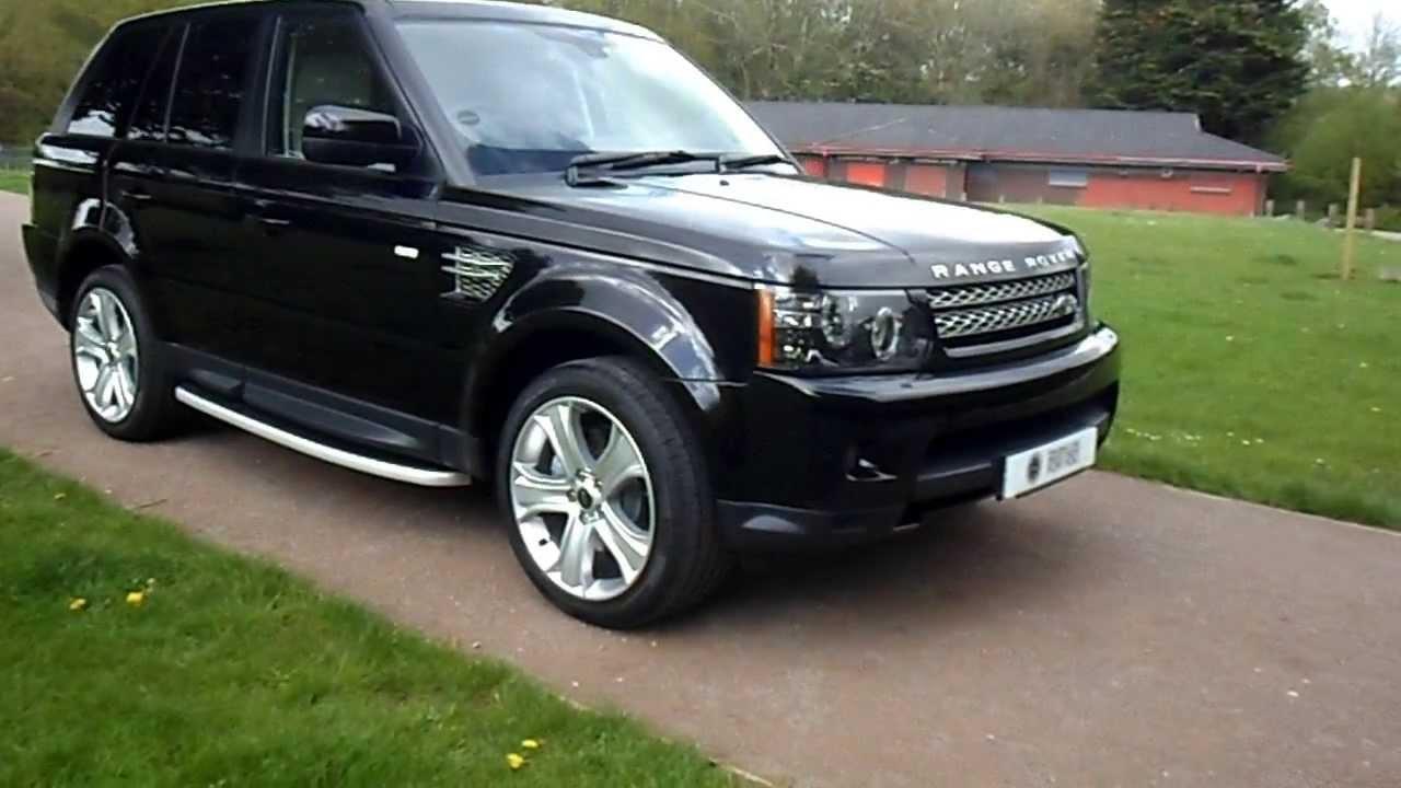 2013/13 Plate Range Rover Sport HSE SDV6 Black Edition - SOLD