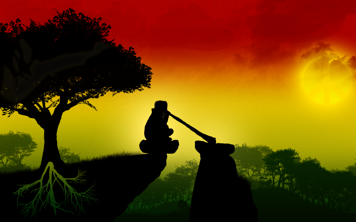 Rasta Lion Wallpaper – 1440×900 High Definition Wallpaper .