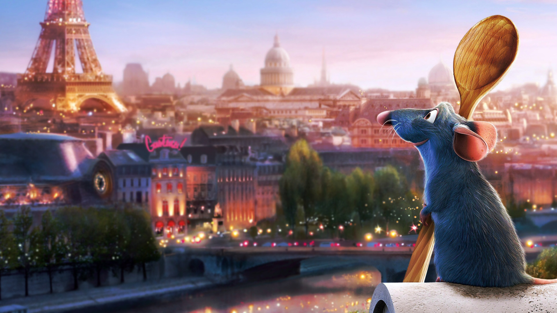Ratatouille Background