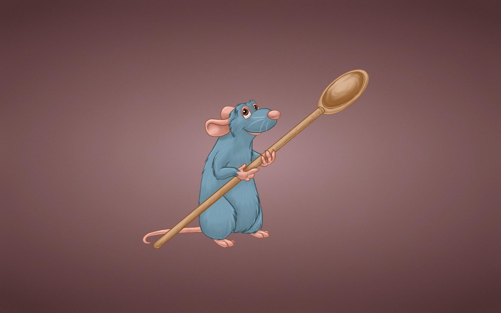 Ratatouille Rat Spoon Rodent Cartoon