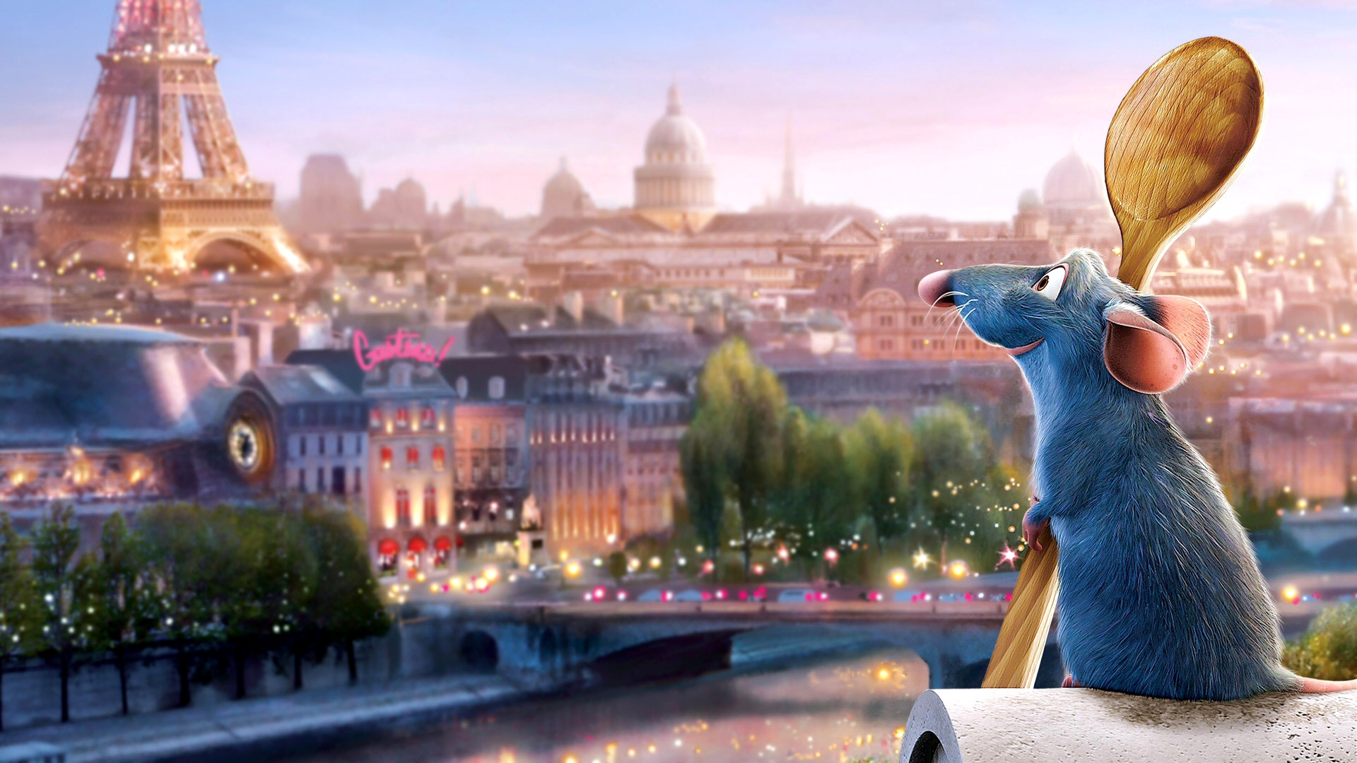 Ratatouille widescreen for desktop
