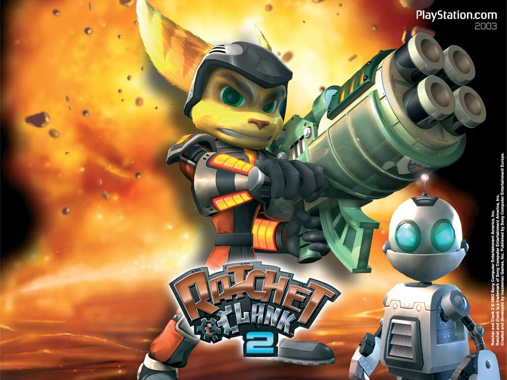 Ratchet And Clank Wallpaper 1024x768 2628