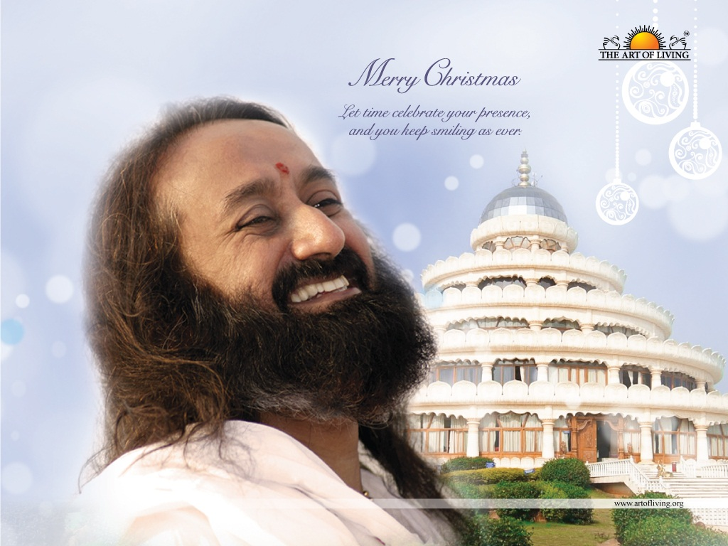 Merry Christmas from Sri Sri