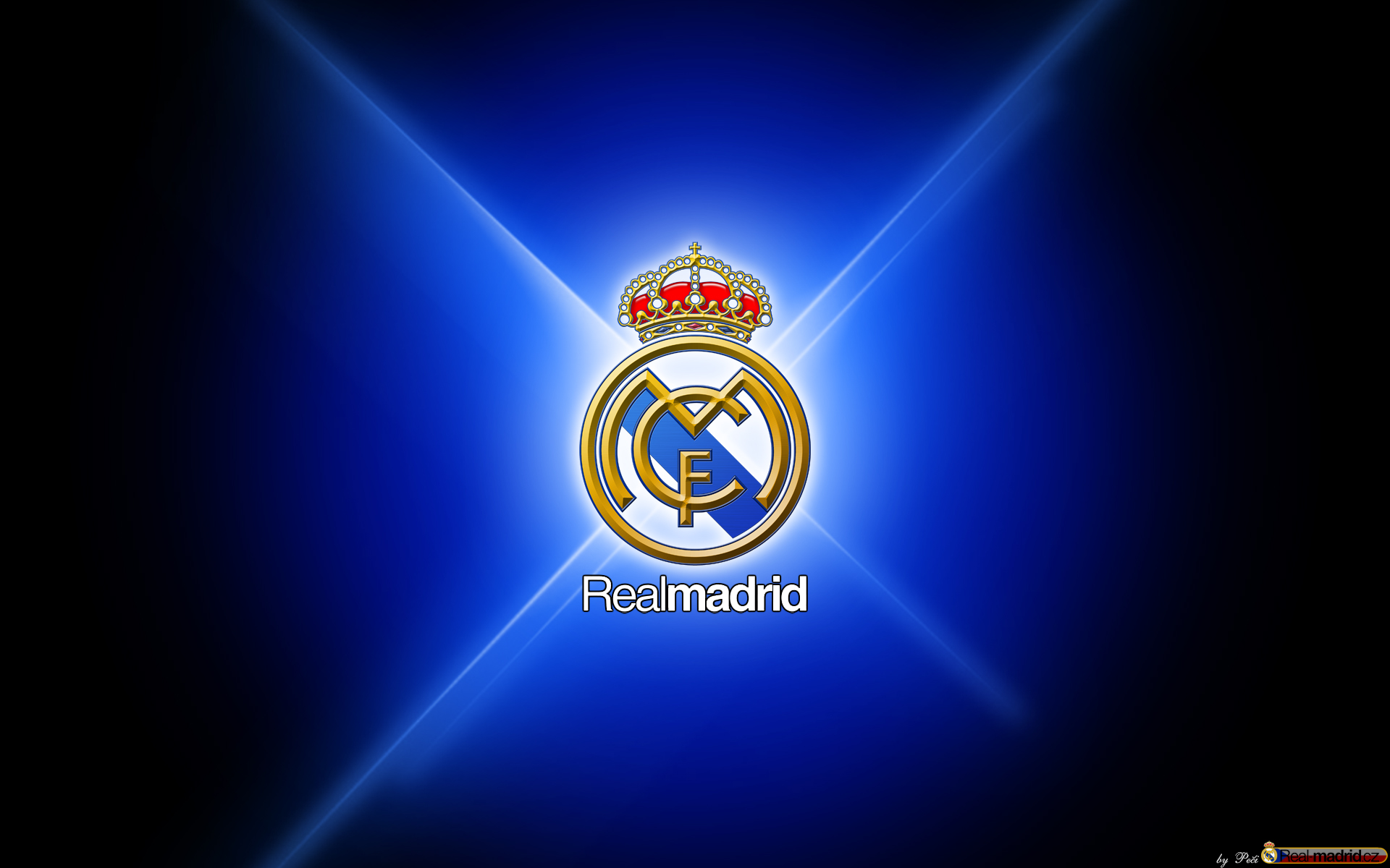 real madrid dark logo