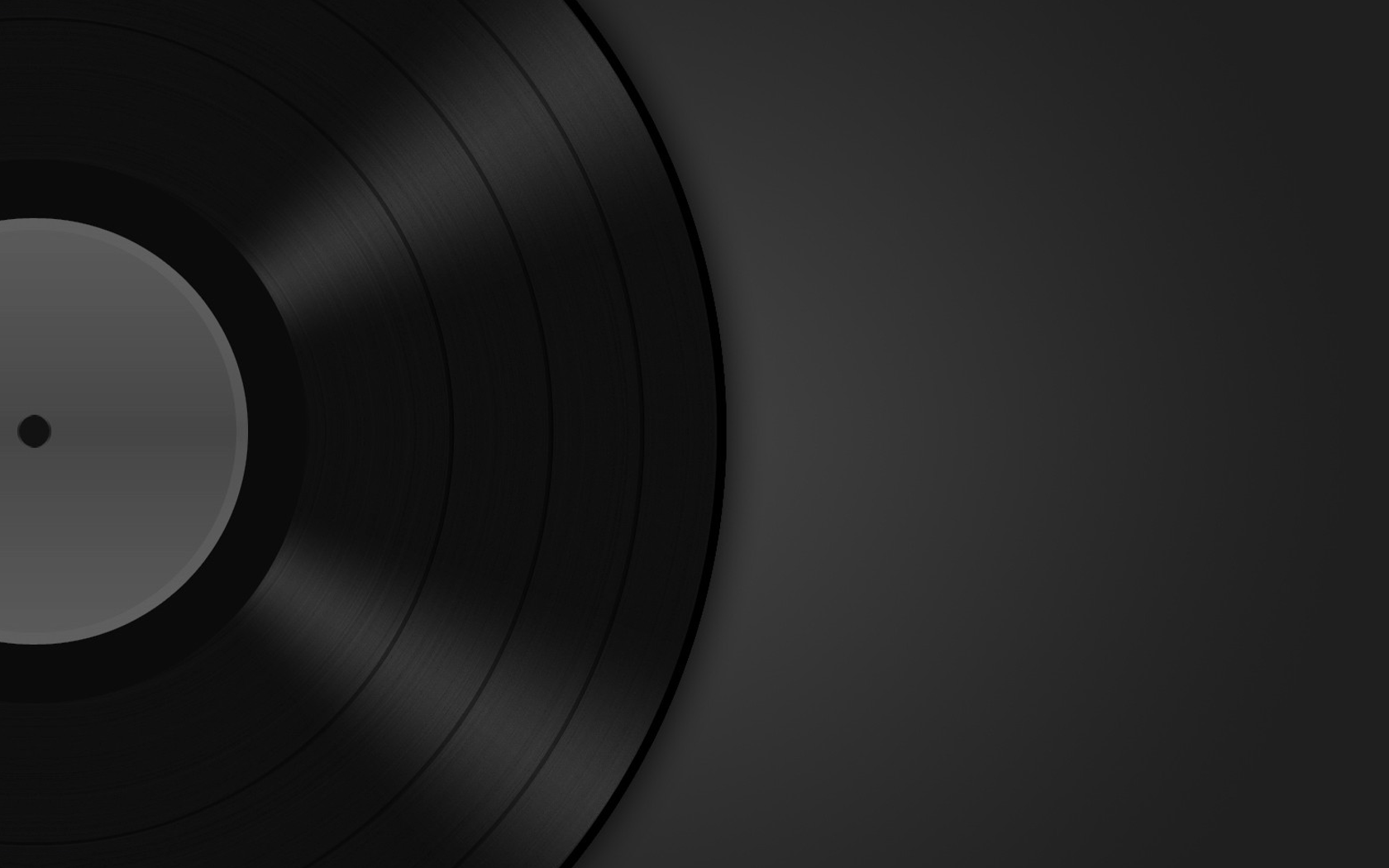 1680x1050 Music Record wallpaper