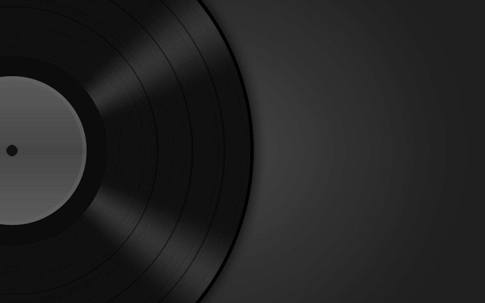 1680x1050 Music Record wallpaper