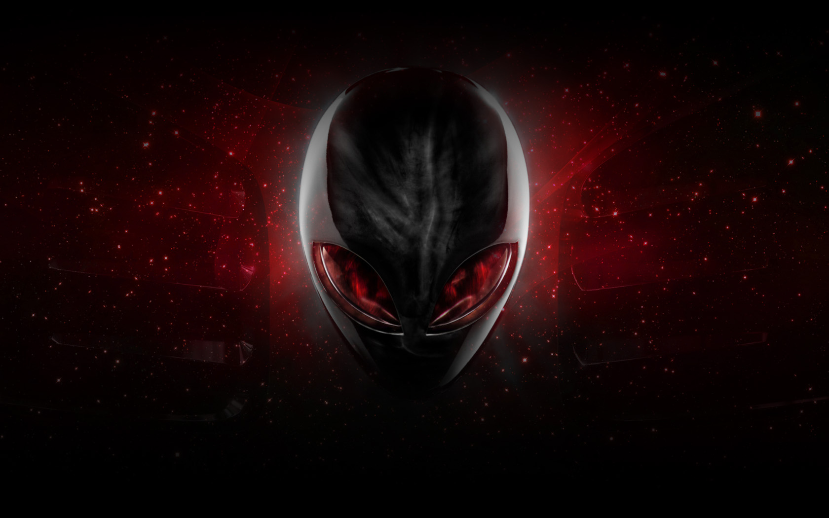 Red Alienware Wallpaper