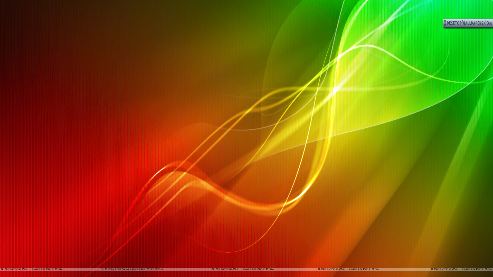 Red Green Lights Abstract Wallpaper 1920x1080px